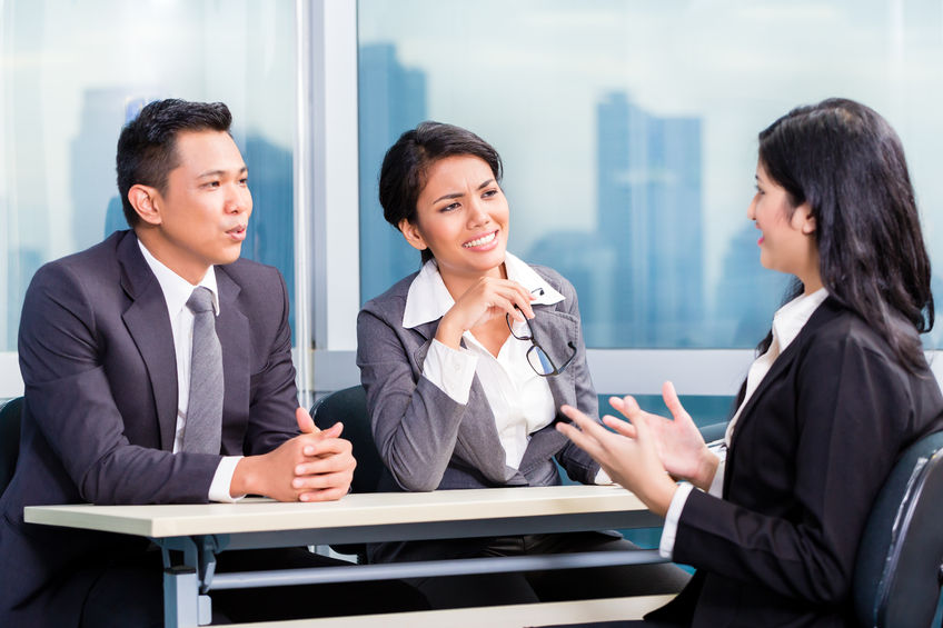 Dealing with interview nerves while in the interview room