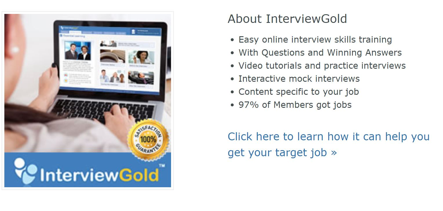 InterviewGold Online Interview Training